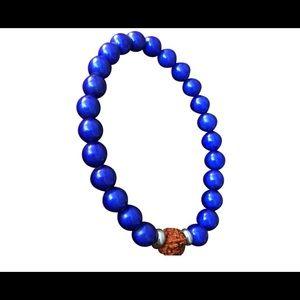 Other - DARK BLUE rudhrakhsha beads bracelet